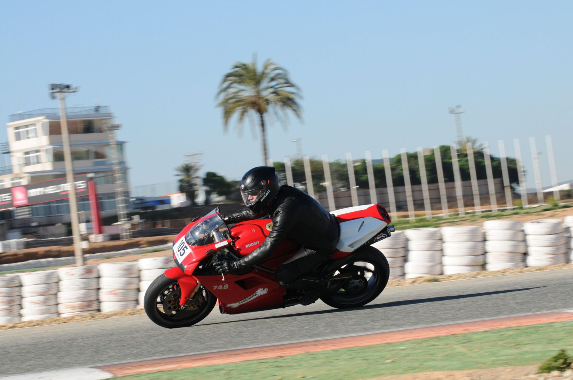 Circuito Cartagena on Ducati 748, January 2019