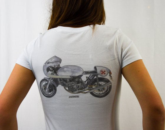 New series of t-shirts with beautiful drawings of our favorite bikes!