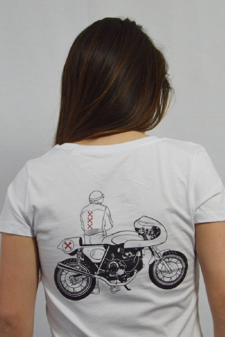 ducat cafe racer t-shirt