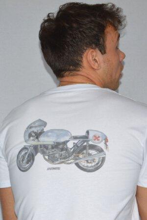 Ducati cafe racer – Emulating the Imola in aluminum