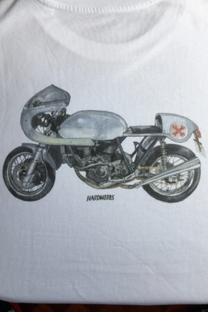 Ducati cafe racer – Emulating the Imola in aluminum