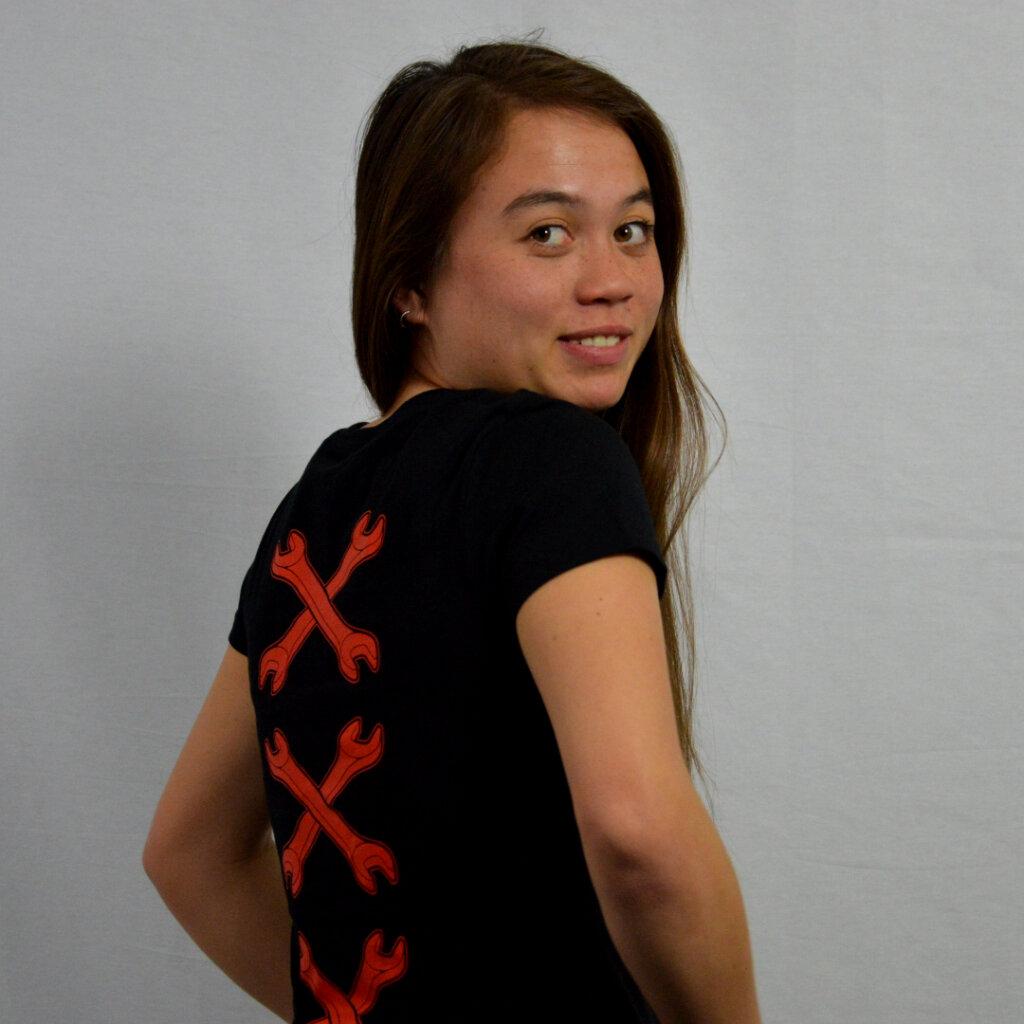 Amsterdam t-shirt in black