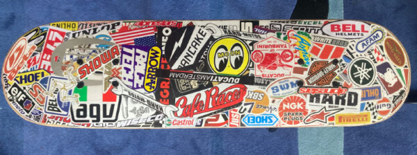 skateboard bench number two of four