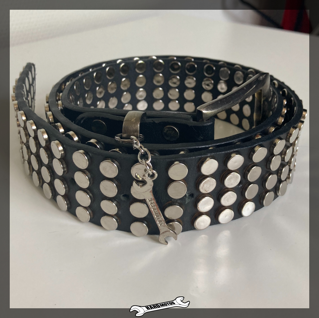 Studded belts – Keep your pants up, old school style