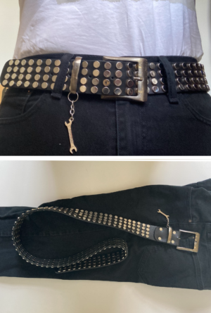 Studded belt – Old school to look cool