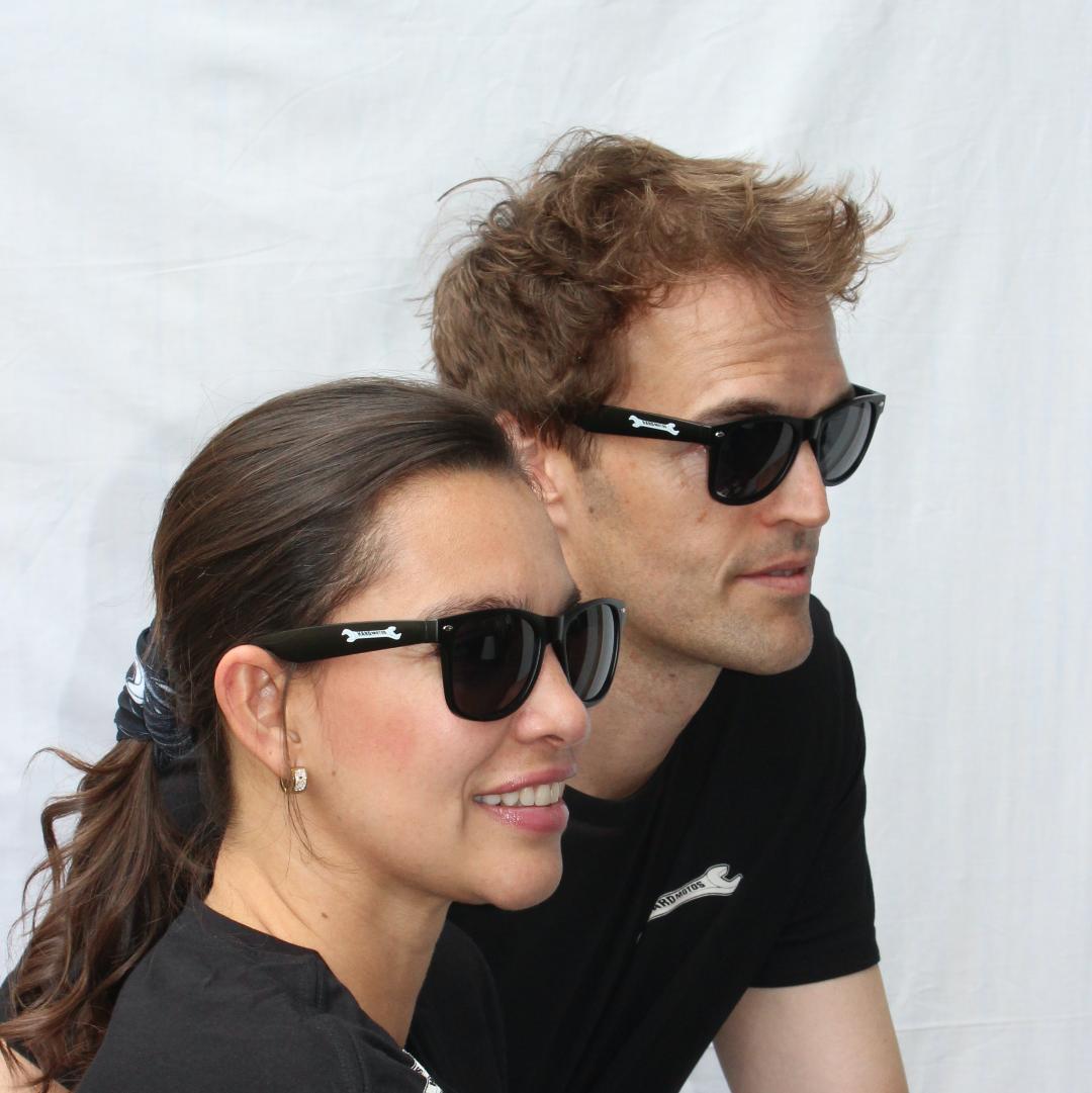 Hard Motos sunglasses – 'cause your future's so bright you gotta wear shades